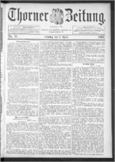 Thorner Zeitung 1895, Nr. 78