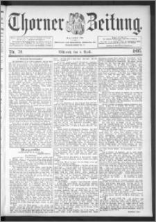 Thorner Zeitung 1895, Nr. 79