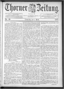 Thorner Zeitung 1895, Nr. 80