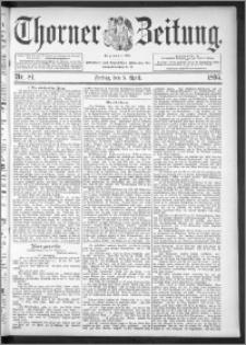Thorner Zeitung 1895, Nr. 81