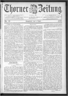 Thorner Zeitung 1895, Nr. 82