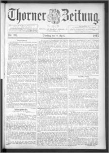 Thorner Zeitung 1895, Nr. 84