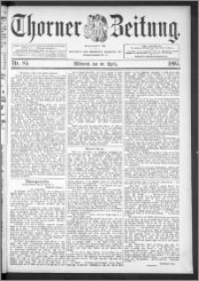 Thorner Zeitung 1895, Nr. 85