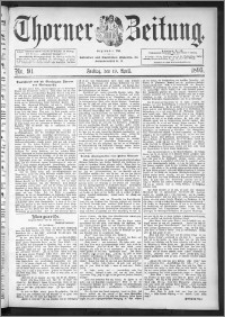 Thorner Zeitung 1895, Nr. 91