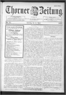 Thorner Zeitung 1895, Nr. 93 Zweites Blatt