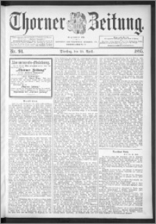 Thorner Zeitung 1895, Nr. 94