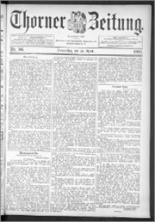 Thorner Zeitung 1895, Nr. 96