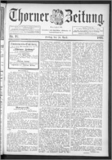 Thorner Zeitung 1895, Nr. 97