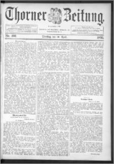 Thorner Zeitung 1895, Nr. 100 + Extra-Beilage