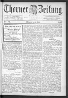 Thorner Zeitung 1895, Nr. 101