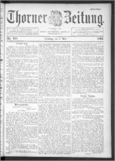 Thorner Zeitung 1895, Nr. 105 Erstes Blatt