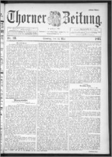Thorner Zeitung 1895, Nr. 111 Erstes Blatt