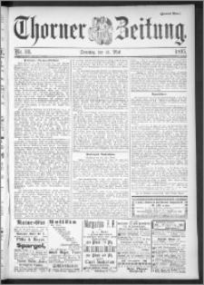 Thorner Zeitung 1895, Nr. 111 Zweites Blatt