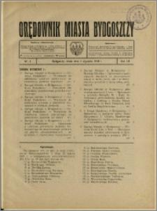Orędownik Miasta Bydgoszczy, R.52, 1936, Nr 1