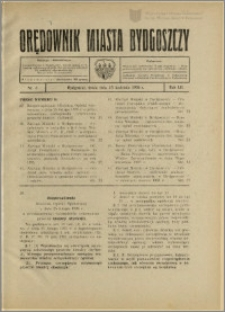 Orędownik Miasta Bydgoszczy, R.52, 1936, Nr 8