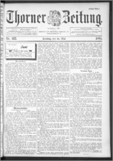 Thorner Zeitung 1895, Nr. 122 Erstes Blatt