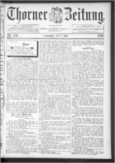 Thorner Zeitung 1895, Nr. 130