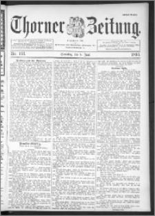 Thorner Zeitung 1895, Nr. 133 Erstes Blatt