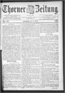 Thorner Zeitung 1895, Nr. 138