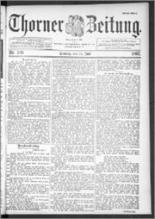 Thorner Zeitung 1895, Nr. 139 Erstes Blatt
