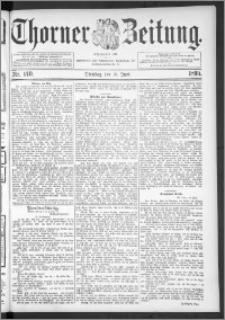 Thorner Zeitung 1895, Nr. 140