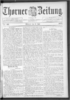 Thorner Zeitung 1895, Nr. 141