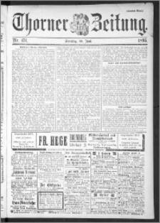 Thorner Zeitung 1895, Nr. 151 Zweites Blatt