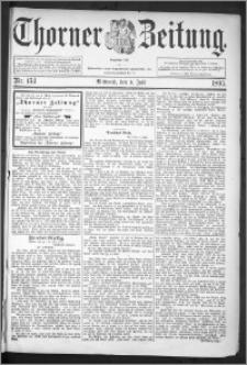 Thorner Zeitung 1895, Nr. 153