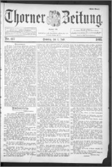 Thorner Zeitung 1895, Nr. 157 Erstes Blatt