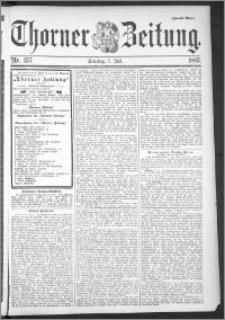 Thorner Zeitung 1895, Nr. 157 Zweites Blatt