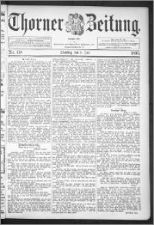 Thorner Zeitung 1895, Nr. 158
