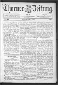 Thorner Zeitung 1895, Nr. 160