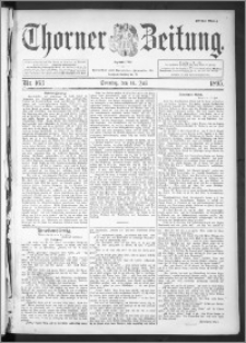 Thorner Zeitung 1895, Nr. 163 Erstes Blatt