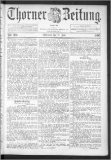 Thorner Zeitung 1895, Nr. 165