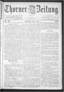 Thorner Zeitung 1895, Nr. 166
