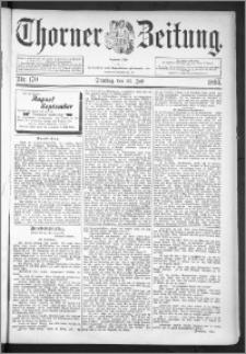 Thorner Zeitung 1895, Nr. 170