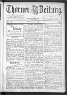 Thorner Zeitung 1895, Nr. 171