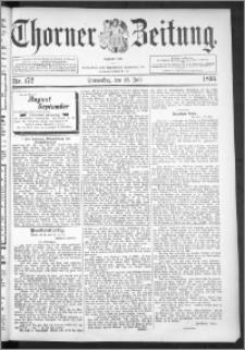 Thorner Zeitung 1895, Nr. 172