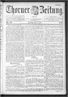 Thorner Zeitung 1895, Nr. 175 Erstes Blatt