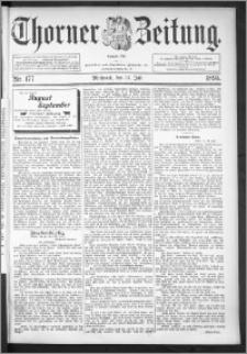 Thorner Zeitung 1895, Nr. 177