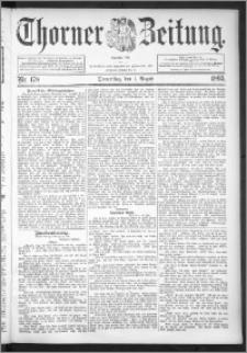 Thorner Zeitung 1895, Nr. 178