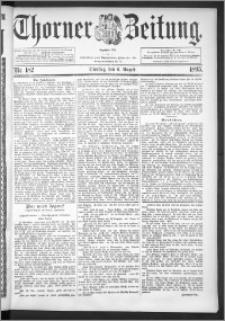 Thorner Zeitung 1895, Nr. 182
