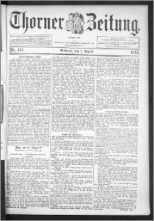 Thorner Zeitung 1895, Nr. 183