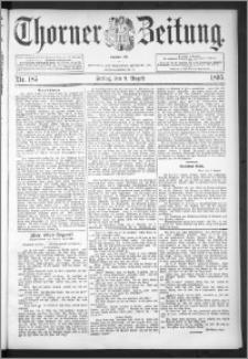 Thorner Zeitung 1895, Nr. 185