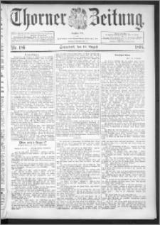 Thorner Zeitung 1895, Nr. 186
