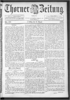 Thorner Zeitung 1895, Nr. 188