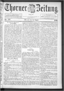 Thorner Zeitung 1895, Nr. 189