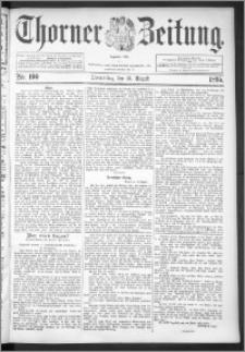 Thorner Zeitung 1895, Nr. 190