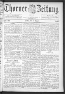 Thorner Zeitung 1895, Nr. 191