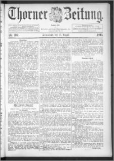 Thorner Zeitung 1895, Nr. 192